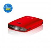 Dausen Powerbank 10400mAh, Red