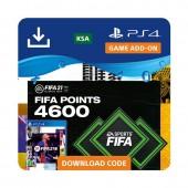 بطاقة فيفا 21 4600 FUT نقطة...