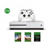 Xbox One S 1TB + 2 DLC...