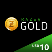 US - Razer Gold Pin $10 -...