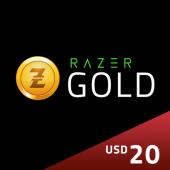 US - Razer Gold Pin $20 -...