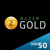 US - $50 Razer Gold Pin -...