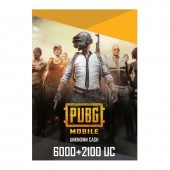 PUBG Mobile 8100 UC - Email...
