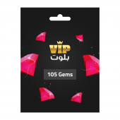 VIP Baloot Card 105 Gems -...