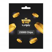 VIP Baloot Card 25000 Chips...