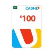 Saudi - بطاقة كاش يو$100 -...