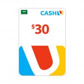 Saudi - بطاقة كاش يو$30 -...
