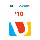 Saudi - CASHU Card $10 -...