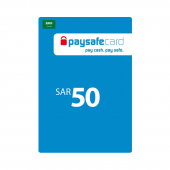 Saudi - Paysafe Card 50SAR...