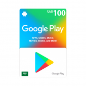 Google Play Card 100sr - SA...