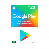 Google Play Card 20sr - SA...