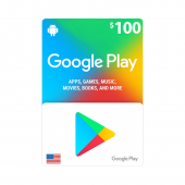 US - Google Play Card $100...