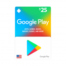 US - Google Play Card $25 -...