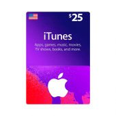 iTunes Gift Card $25 - US -...