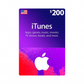 iTunes Gift Card $200 - US...