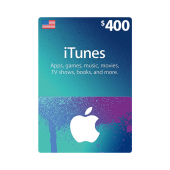 iTunes Gift Card $400 - US...