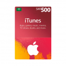 Saudi - Apple iTunes Gift...