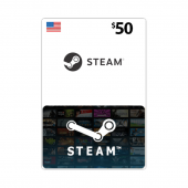 Steam Card $50 - US - Email...