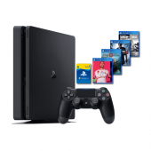 Sony PS4 500GB + 4 Games +...