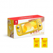Nintendo Yellow Switch Lite...