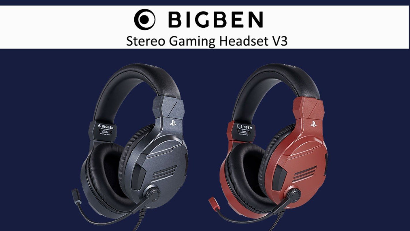 BigBen Stereo Gaming Headset V3 for PS4