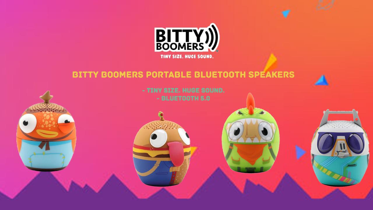 Bitty Boomers Speakers