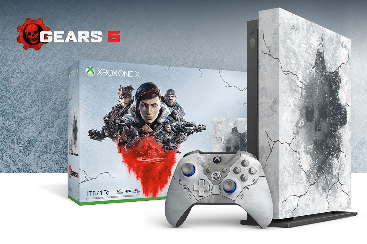 Microsoft Xbox One X Gears 5 Limited Edition Console