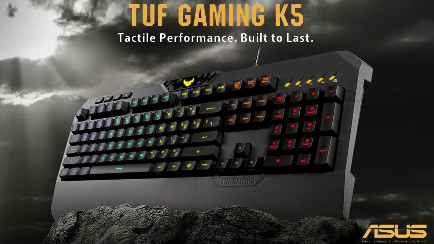 ASUS TUF Gaming K5 RGB Keyboard